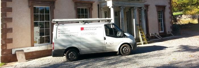 Westmorland Electrical Van